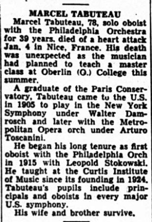Tabuteau Obituary (Variety Jan 19, 1966.jpeg